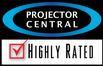 Winner of Projector Centra's highly rated award