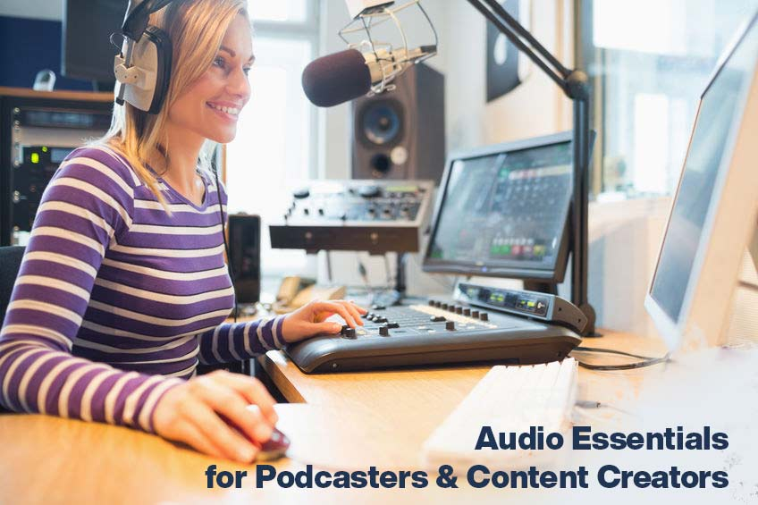 essential audio gear to create professional podcasts or video content