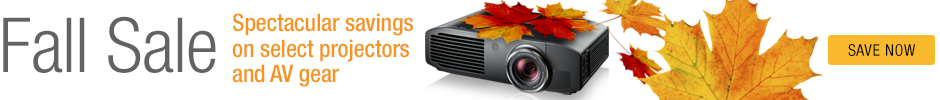 Fall Projector Sale