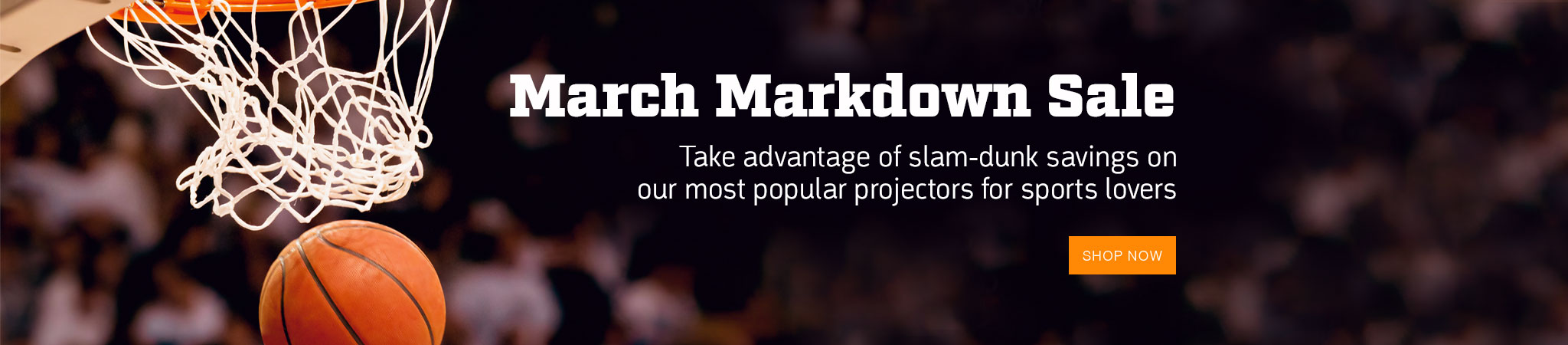 Shop Projector People's March Markdown Sale and Save