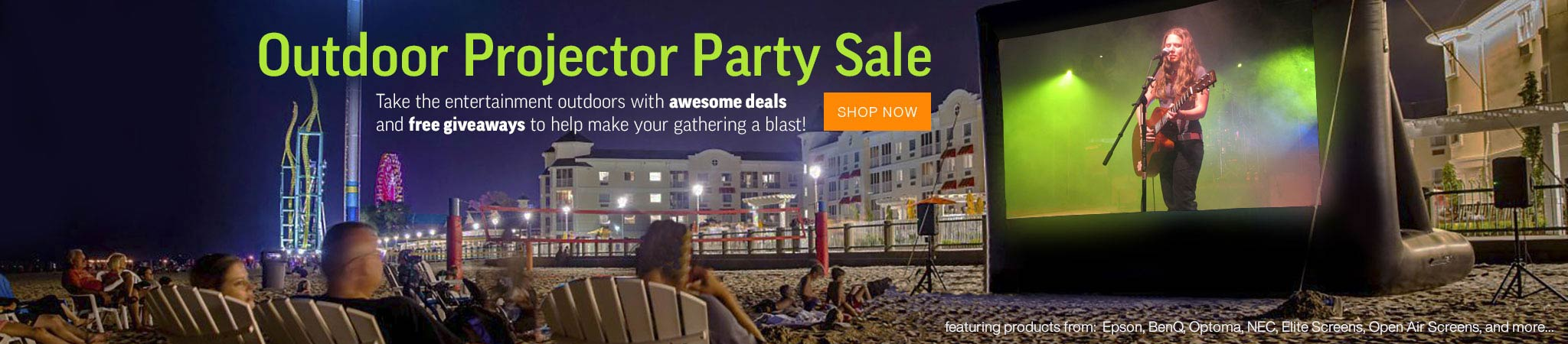Projector People Outdoor Projector Party Sale