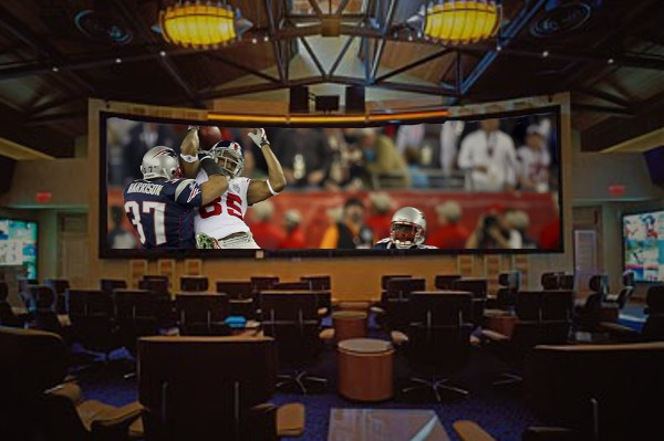 Projectors For Sports Fans Football On The Big Screen