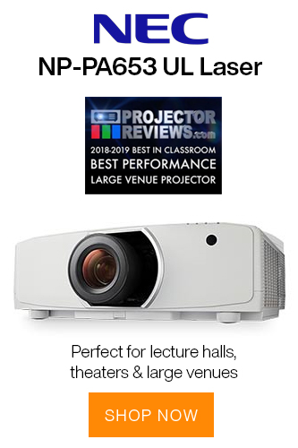 NEC NP-PA653UL Projector