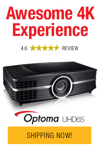 OPTOMA UHD65 Projector Price Drop