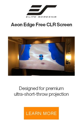 Elite Screen Aeon Edge Screen