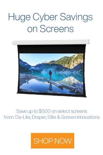 Cyber Week Projector Screen Sale