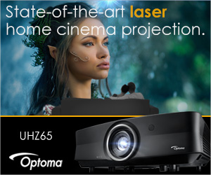 Optoma UHZ65 Laser home cinema projector