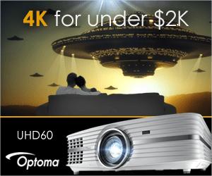 Optoma UHD60 4K UHD Home Cinema Projector
