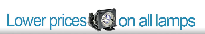 low prices on replacement projector lamps and bulbs
