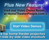 View our Home Theater Projector Video Demo Room