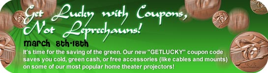 Get Lucky Projector coupon code